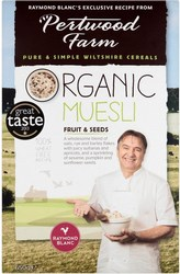 Pertwood Farm Organic Muesli Fruit Seeds 650g