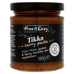 Free and Easy Curry Paste