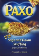 Paxo Stuffing and Breadcrumbs
