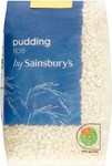 Sainsburys Pudding Rice 500g