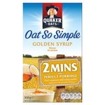 Quaker Oat So Simple Golden Syrup 360g 10 Sachets
