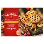 Tesco Lattice Mince Pies 6 Pack