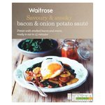 Waitrose Bacon and Onion Potato Saute 400g