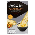 Jacobs Flatbreads Salt and Cracked Black Pepper 150g