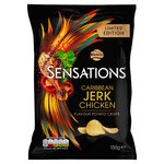 Walkers Sensations Caribbean Jerk Chicken 150g Limited Edition