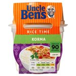 Uncle Bens Rice Time Korma 300g
