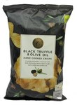 Marks and Spencer Black Truffle and Olive Oil Hand Cooked Crisps 150g