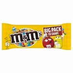 Retail Pack M & Ms Peanut (Yellow) Big Bag 24x70g