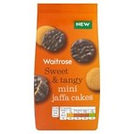 Waitrose Mini Jaffa Cakes 125g