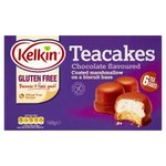 Kelkin Freefrom Chocolate Teacakes 6x28g