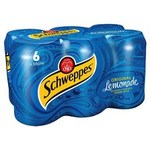 Schweppes Original Lemonade 6 x 330ml Cans