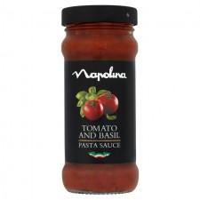 Napolina Tomato and Basil Sauce 350g