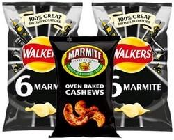Marmite Crisps and Snacks Range