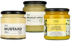 Marks and Spencers Condiments