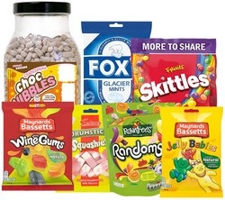 Retail Packs of Sweets
