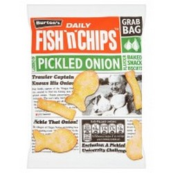 Burtons Fish and Chips Baked Snack