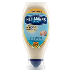 Hellmanns Mayonnaise and Table Sauce