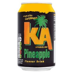 KA Fruit sparkling drinks