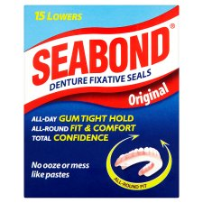 Seabond Denture Fixative Seals