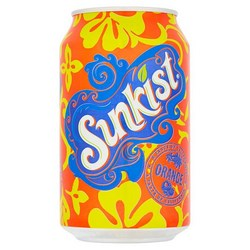 Sunkist Fizzy Drinks