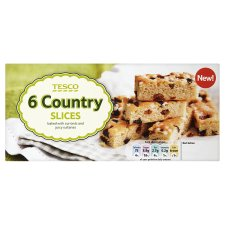 Tesco Cake Bars, Slices and Multipack Cakes
