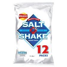 Walkers Salt N Shake Crisps