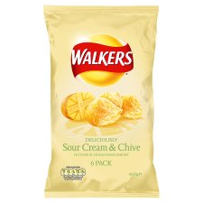 Walkers Sour Cream and Chive Crisps