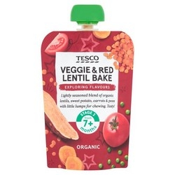 Tesco Baby and Toddler Food Range