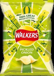 Walkers Pickled Onion Flavour Crisps