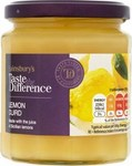Sainsburys Taste the Difference Lemon Curd 320g