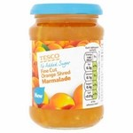 Tesco No Added Sugar Orange Marmalade 340G