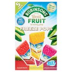 Robinsons Assorted Flavour Freeze Pops No Added Sugar 5 x 62ml