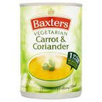 Baxters Vegetarian Carrot and Coriander Soup 400g