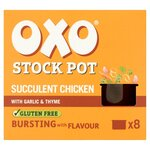 Oxo Stock Pots Chicken 8 x 20g