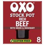 Oxo Stock Pots Beef 8 x 20g