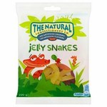 The Natural Confectionery Company Jelly Snakes Bag 160g