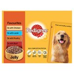 Pedigree Pouch Favourites in Jelly 12 x 100g