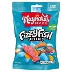 Maynards Bassetts Fizzy Fish Sweets 160g