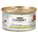 Gourmet Solitaire Slow Cooked Duck and Vegetable 85g