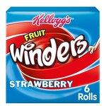 Kelloggs Fruit Winders Strawberry 6 x 17g