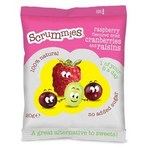 Scrummies Raspberry Flavour Cranberries and Raisins 20g
