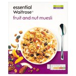 Waitrose Essential Fruit and Nut Muesli 500g