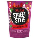 Pot Noodle Asian Street Style Vietnamese Beef Pho 60g