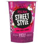 Pot Noodle Asian Street Style Thai Red Curry 69g