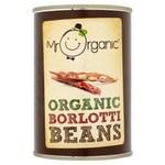 Mr Organic Organic Borlotti Beans 400g