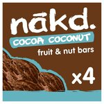 Nakd Cocoa Coconut 4 Pack