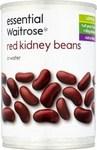 Waitrose Essential Red Kidney Beans in Water 400g