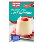 Dr Oetker Premium Grade Leaf Gelatine 13G