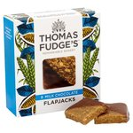 Thomas J Fudges Marvellous Milk Chocolate Flapjacks 8 Pack