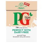 PG tips Perfect with Dairy Free Milk Alternatives Tea Bags x70